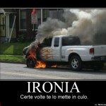 demotivational ironia