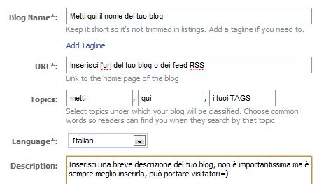pubblicare automatico facebook articoli blog