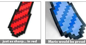 cravatta 8 bit acquisto