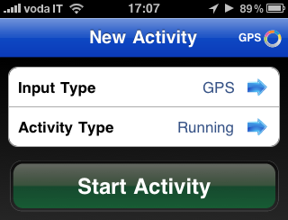 runkeeper iphone corsa 3gs iphone 4