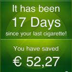 risparmio dello smettere di fumare iphone