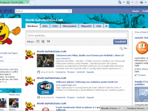 pagerage personalizzare layout facebook