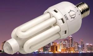 esco lampadina con sensore di movimento