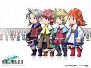 I personaggi di Final Fantasy III