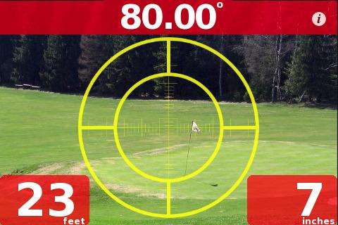 QuickDistance applicato al golf