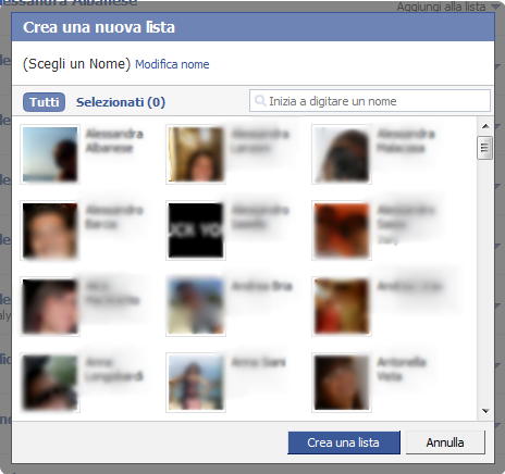 ListaFacebook