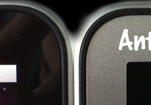 Lucido vs Antiriflesso
