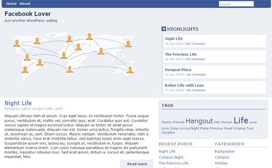 Facebook lover