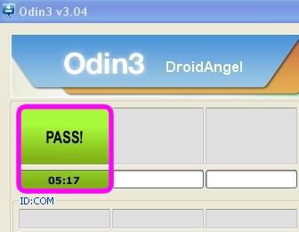 odin flash s3