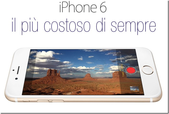 iphone-6-più-costoso-di-sempre