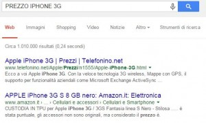 prezzo di uscita iphone 3g